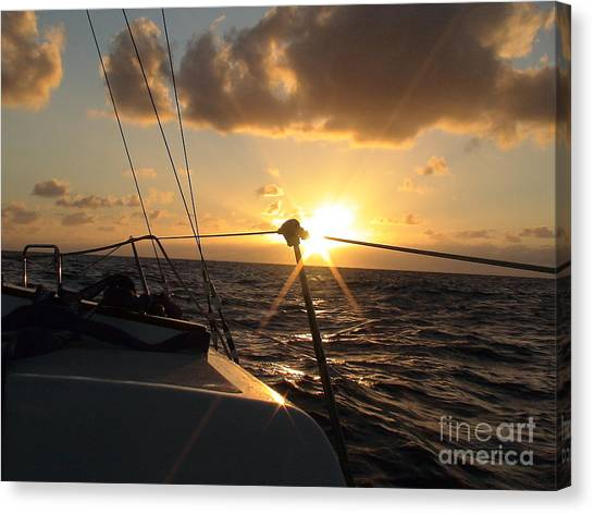 Cruising Life Canvas Print