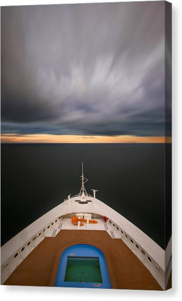 Cruising The Baltic Mg2212 Canvas Print