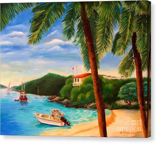 Cruzin' In The Bay Canvas Print
