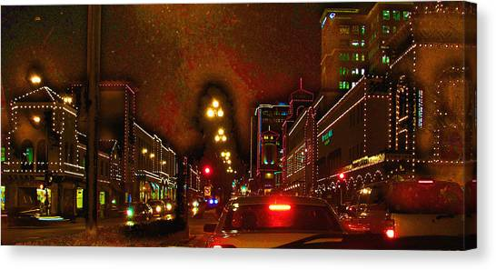 Cruzin View Of The Plaza Canvas Print