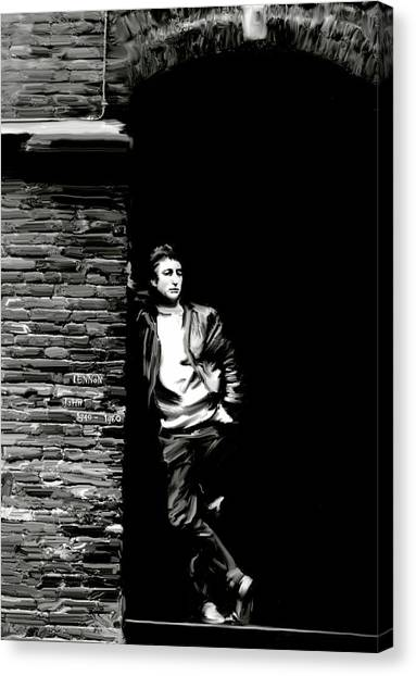 Cry For A Shadow John Lennon Canvas Print