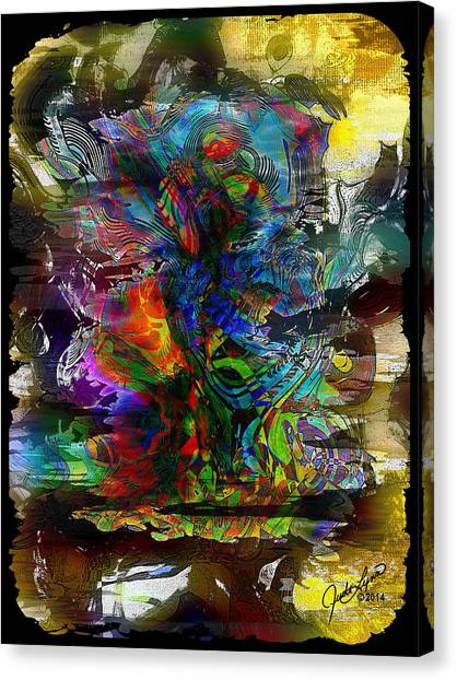 Cryptic Canvas Print