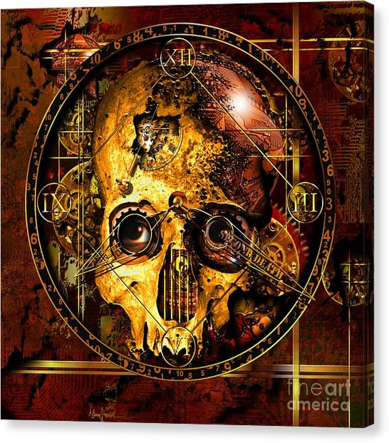 Cryptic Time Course  Canvas Print