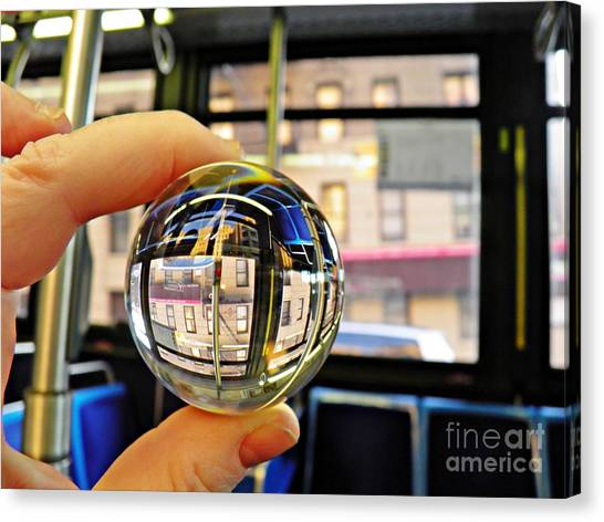 Crystal Ball Project 64 Canvas Print