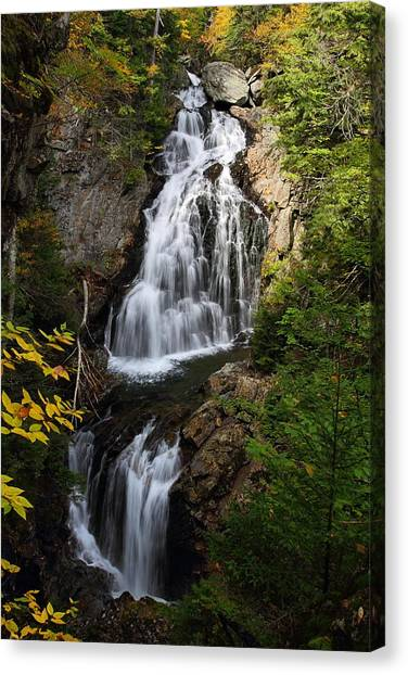 Crystal Cascade Canvas Print