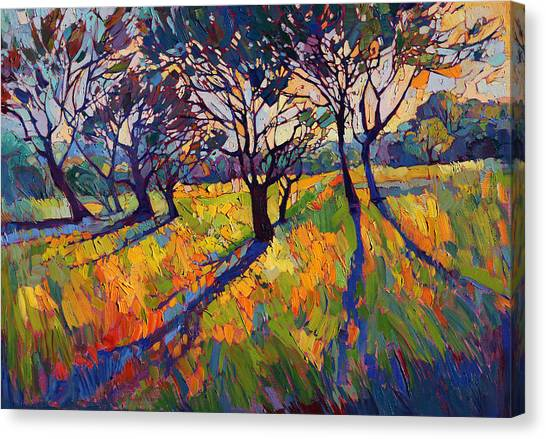 Wine Country Canvas Print - Crystal Light II by Erin Hanson