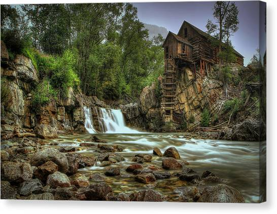 Crystal Mill   Canvas Print