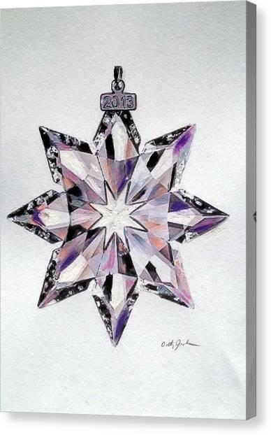 Crystal Ornament Canvas Print