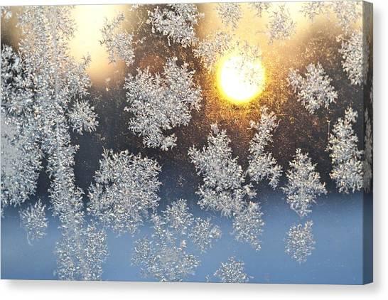 Crystal Sunrise Canvas Print