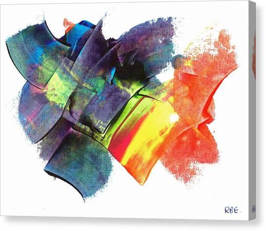 Crystaline Rainbows Canvas Print