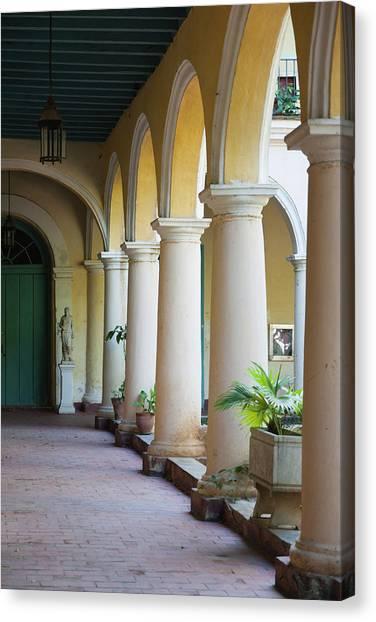 Cuba Canvas Print - Cuba, Havana, Havana Vieja, Convento De by Walter Bibikow