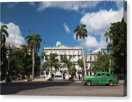 Cuba Canvas Print - Cuba, Havana, Havana Vieja, The Parque by Walter Bibikow