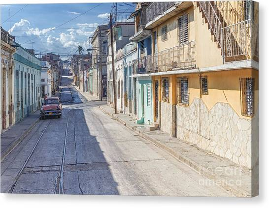 Cuba Pastell  Canvas Print by Juergen Klust
