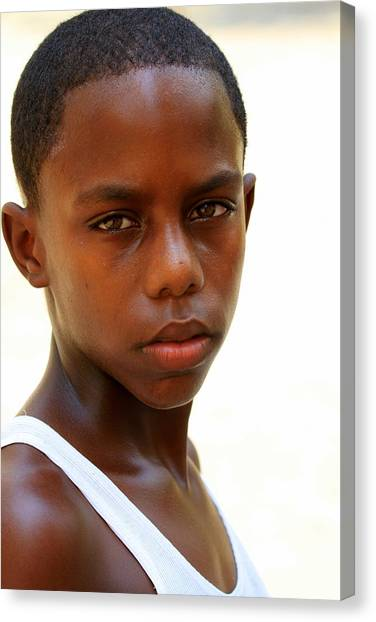 Cuban Youngster Canvas Print by Arie Arik Chen
