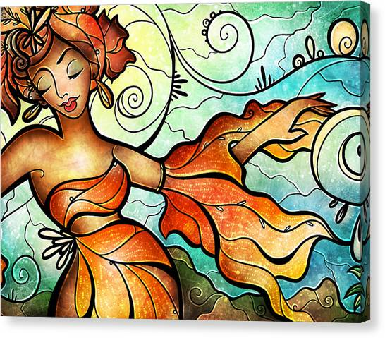 Cubana Canvas Print