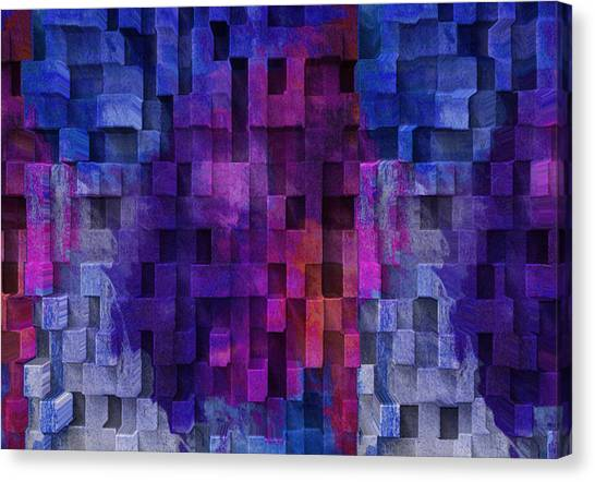 Imagery Canvas Print - Cubed 2 by Jack Zulli