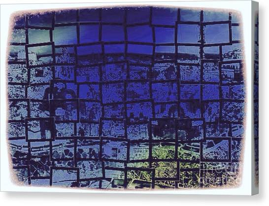 Cubik Canvas Print