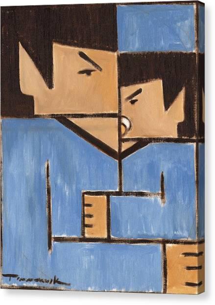 Spock Canvas Print - Cubism Spock Baby Spock Art Print by Tommervik