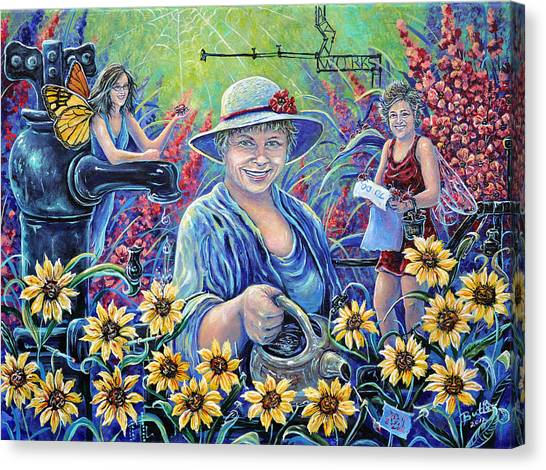 Cultivating The Arts Canvas Print