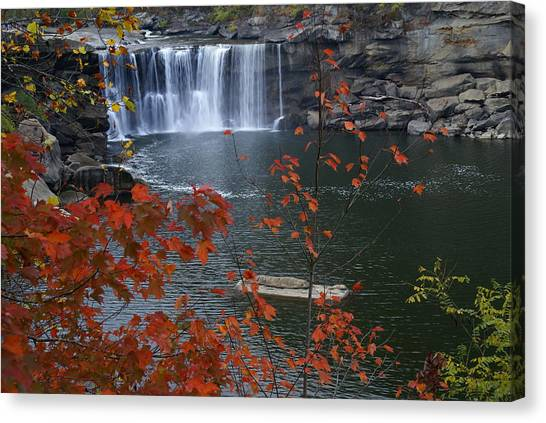 Cumberland Falls Canvas Print by Bj Hodges