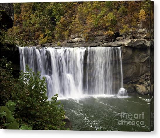 Cumberland Falls H Canvas Print