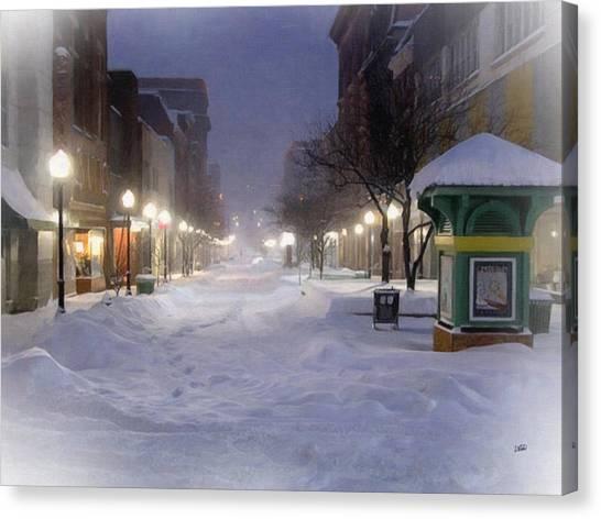 Cumberland Winter Canvas Print