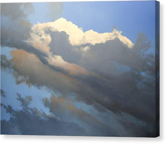 Cumulus 2 Sold Canvas Print