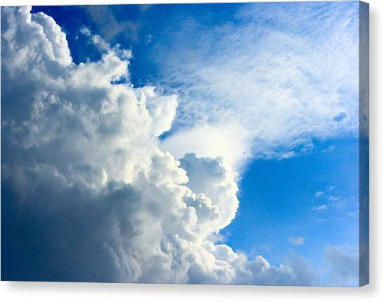 Cumulus Cloud Canvas Print