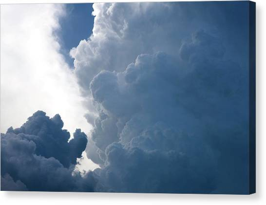 Rainclouds Canvas Print - Cumulus Clouds by Pascal Goetgheluck/science Photo Library