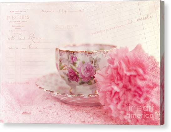 Cup Of Tea Canvas Print