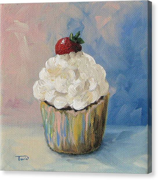 Cupcake 005 Canvas Print by Torrie Smiley