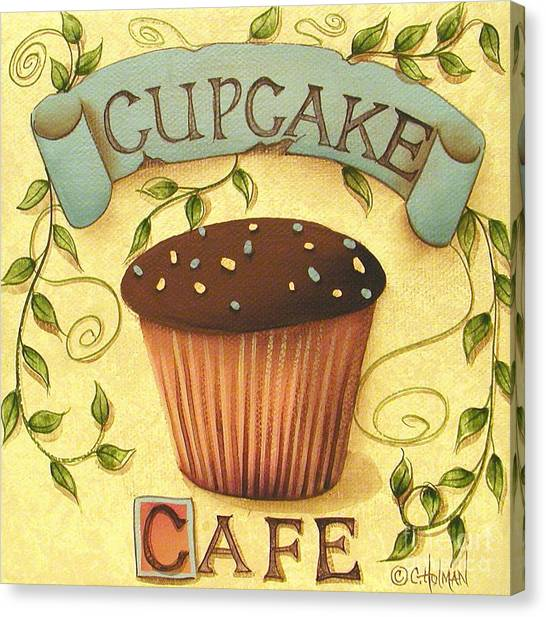 Luxury Cupcake Canvas Wall Art Festooning - All About Wallart ...