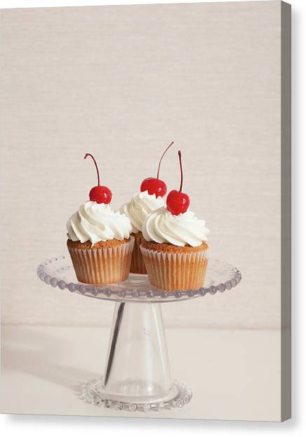 Cupcakes Canvas Print by Photograph By Eric Isaac