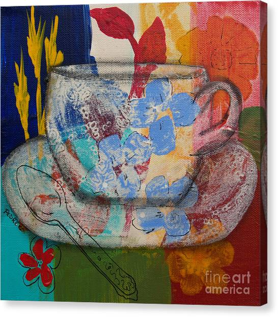 Cuppa Luv Canvas Print