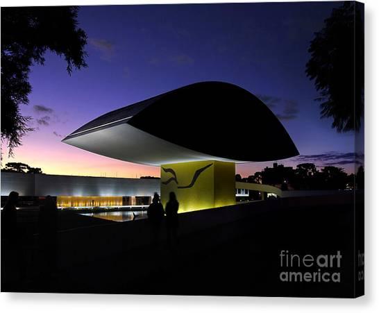 Curitiba - Museu Oscar Niemeyer Canvas Print