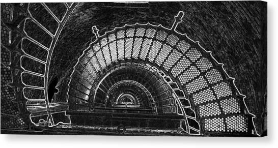 Currituck Lighthouse Stairs Canvas Print