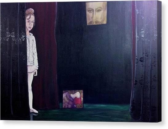 Curtain Canvas Print
