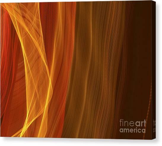 Curtain Of Light Canvas Print