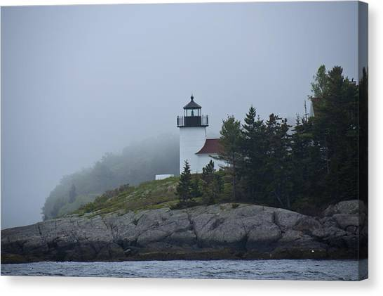 Curtis Island Lighthouse Canvas Print