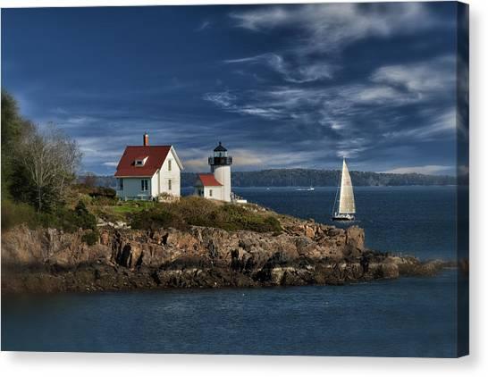 Curtis Island Lighthouse Maine Img 5988 Canvas Print