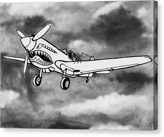 Curtiss P-40 Warhawk 2 Canvas Print by Scott Nelson
