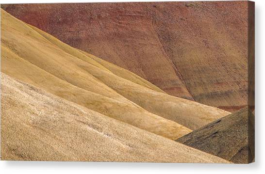 Curves And Colors Canvas Print by Joe Hudspeth