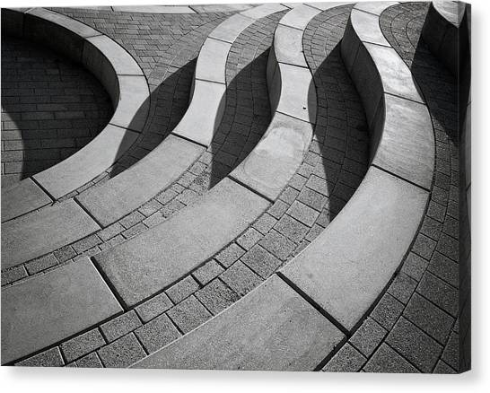 Holland Canvas Print - Curves by Henk Van Maastricht