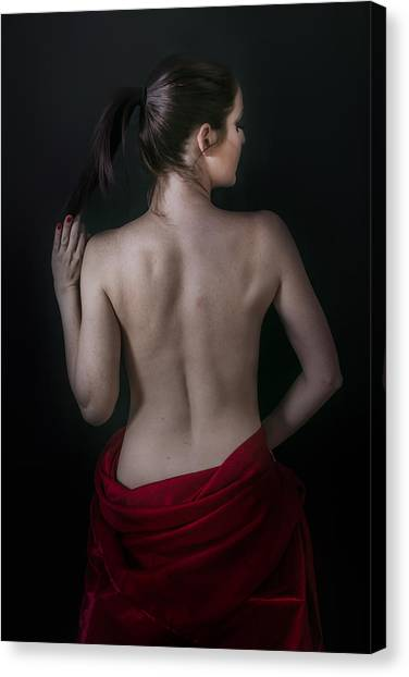 Curves Of Emotion Canvas Print