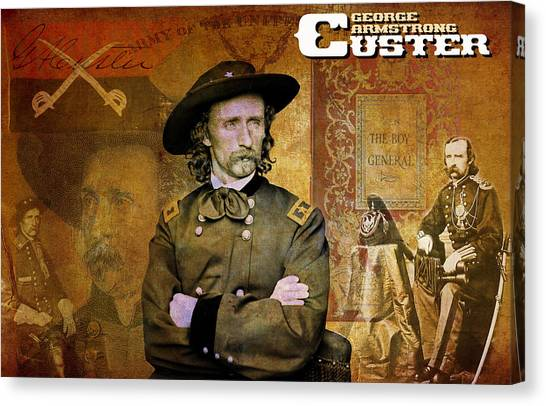 Custer Canvas Print
