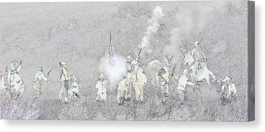 Custers Last Stand Canvas Print