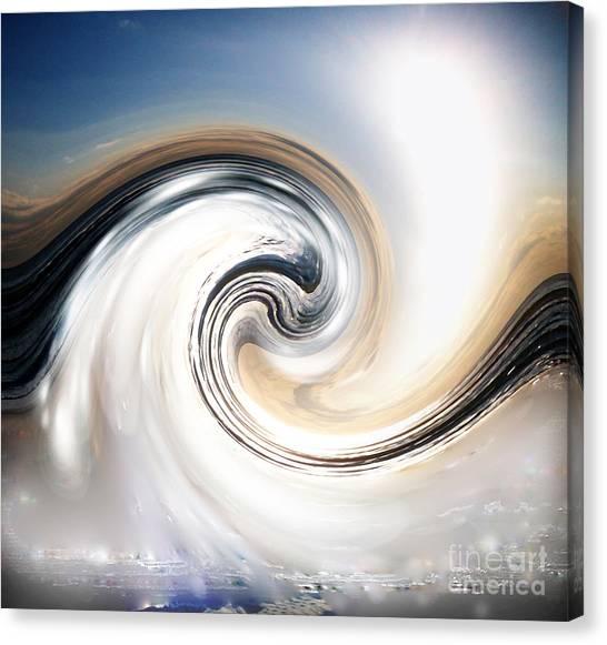 Custom Chrome Wave Canvas Print by Jeffery Fagan