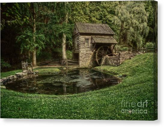 Cuttalossa Farm In Summer I Canvas Print