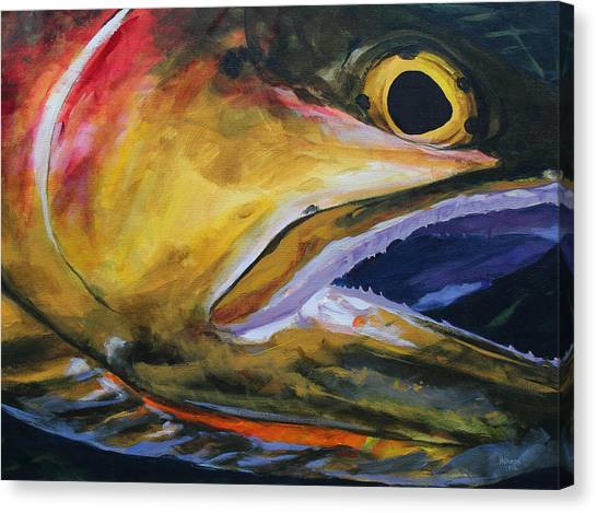 Cutthroat Canvas Print