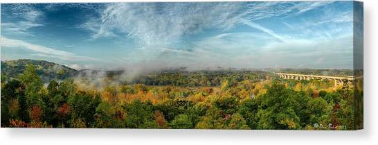Cuyahoga Valley Panarama Canvas Print